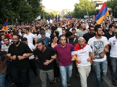 The situation in Armenia continues to worsen