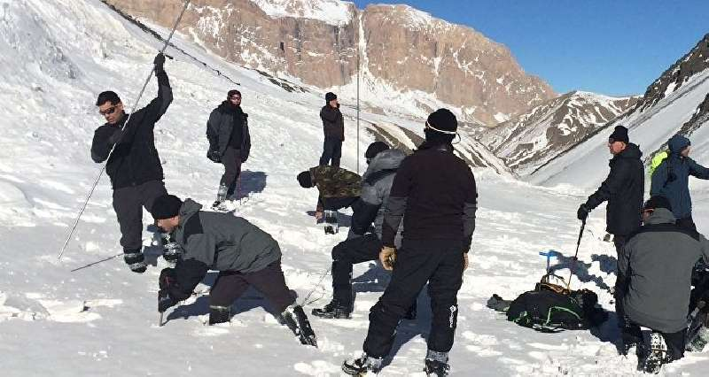 Missing mountaineers fell under a snow avalanche - a representative of the Ministry of Emergency Situations