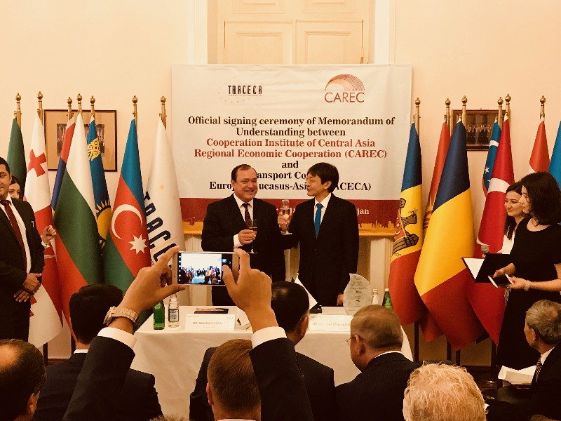 Baku Traceca And Carec Agreement