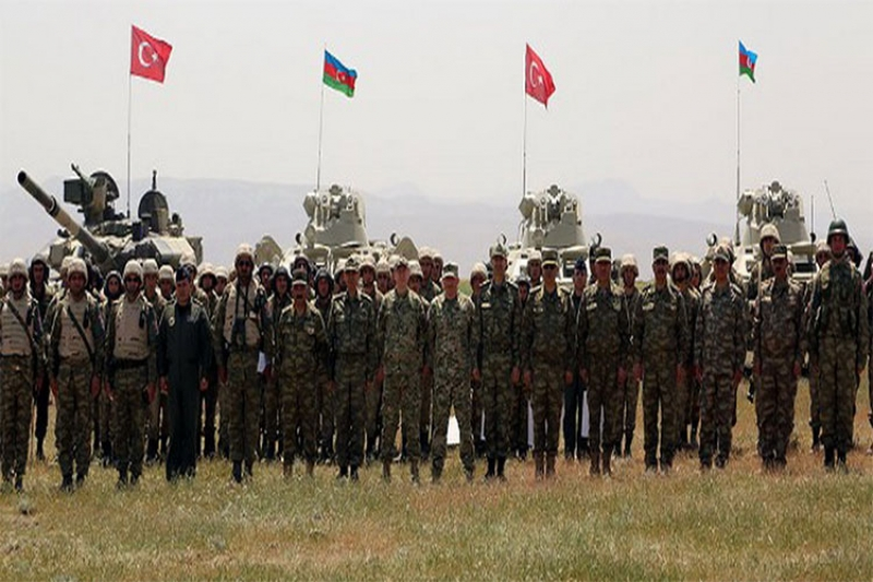 Azerbaijani-Turkish Military Exercises Begin in Nakhchivan